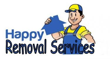 Happy Man and Van Removals